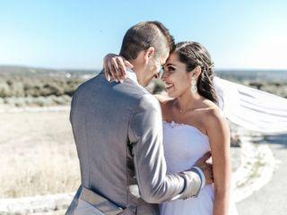 O casamento de Flávia e Michael