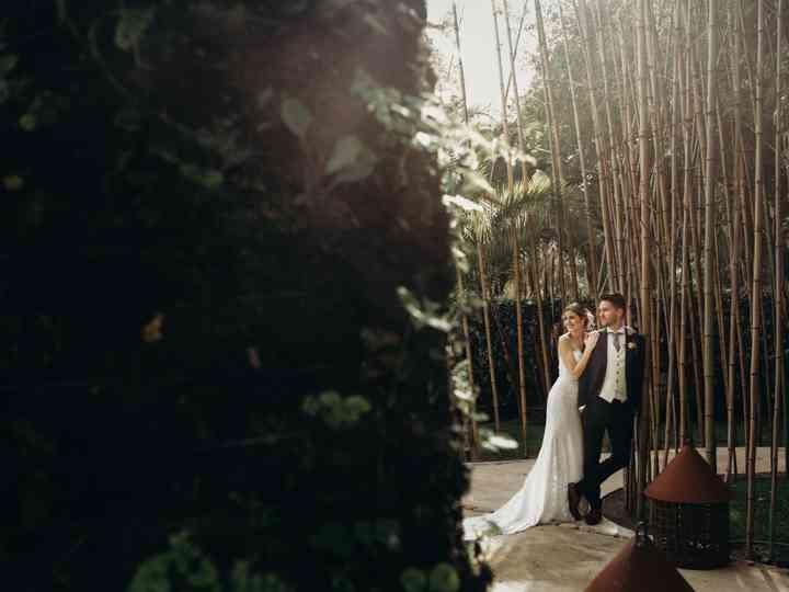 O casamento de André e Diana
