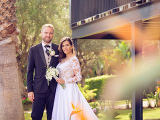 O casamento de Liliana e Claudio