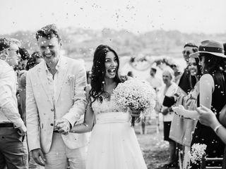 O casamento de Marcella e Simon