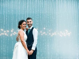 O casamento de Dina e Hugo