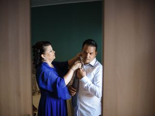 O casamento de Cláudia e Élvio 1