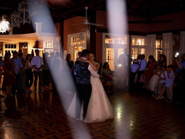 O casamento de Cláudia e Élvio