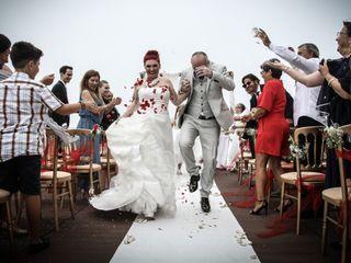 O casamento de Carla e Daryl