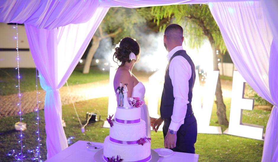 O casamento de Fabio e Sylvie em Albufeira, Albufeira
