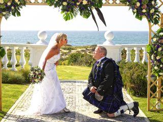 O casamento de Cristina e Alex