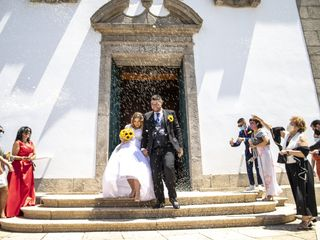 O casamento de Bárbara e Fernando