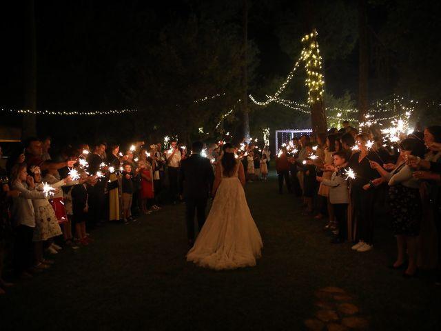 O casamento de Diogo e Sara em Santiago da Guarda, Ansião 1