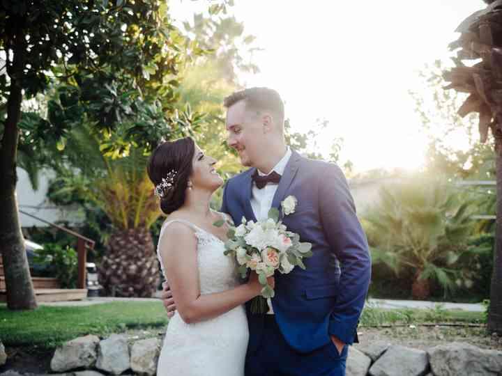 O casamento de Raquel e Sam