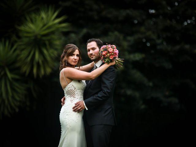 O casamento de Alexandra e Robin
