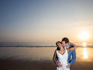 O casamento de Manicha e Miguel