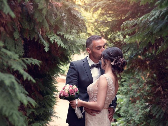 O casamento de Sílvia e Rogério