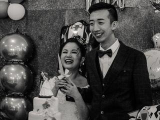 O casamento de Eling e Xiang