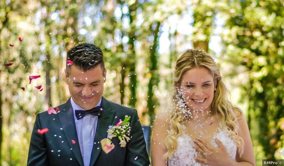 O casamento de José e Stefani em Esmeriz, Vila Nova de Famalicão