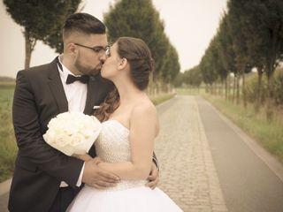 O casamento de Laetitia e Dimitri