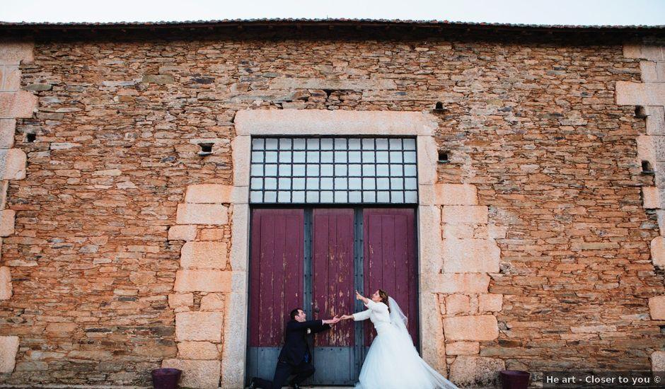 O casamento de João e Carla em Favaios, Alijó
