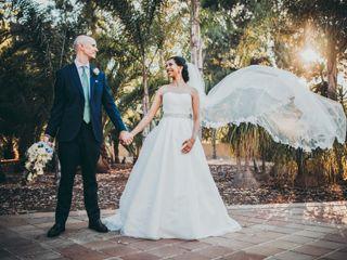O casamento de Mariella e Andrew