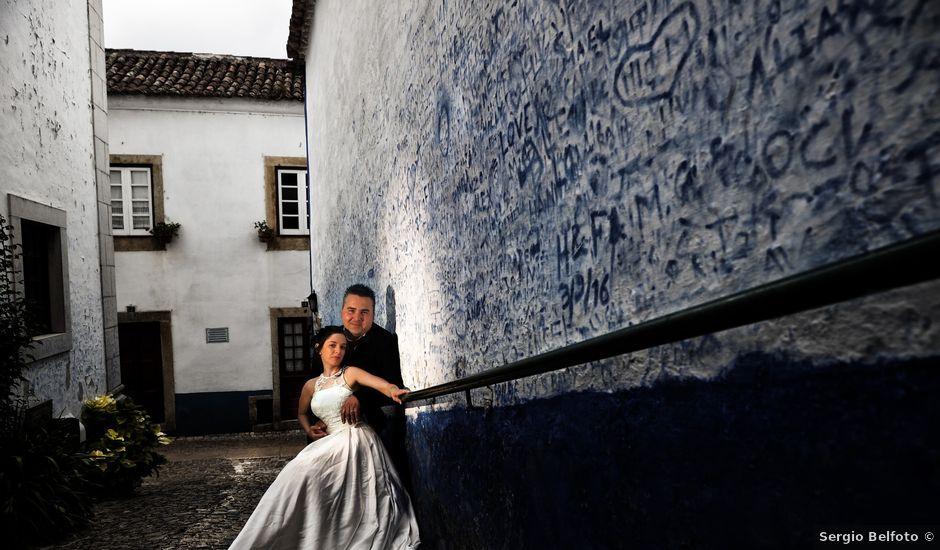 O casamento de Joni e Sofia em Óbidos, Óbidos