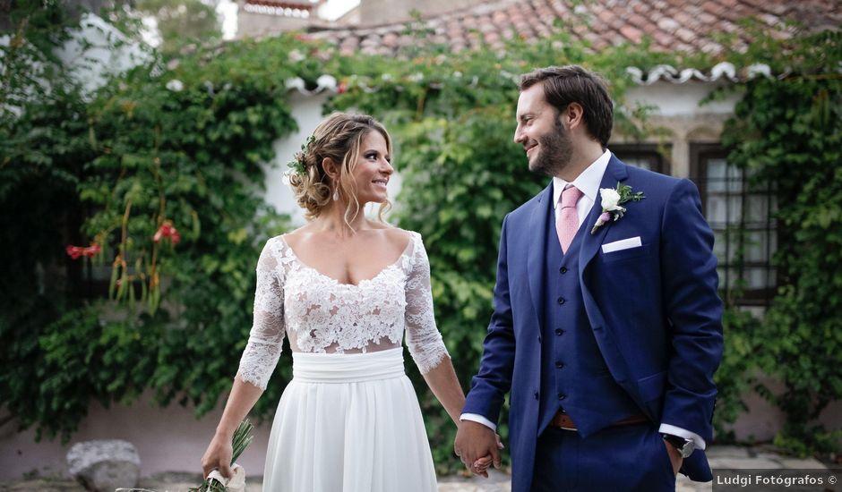 O casamento de Miguel e Joana em Carvoeira, Torres Vedras