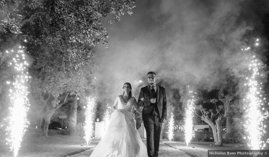 O casamento de João e Anita em Sítio da Nazaré, Nazaré