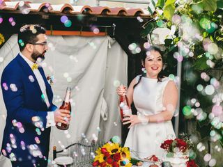 O casamento de Celina e Samuel