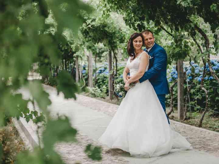 O casamento de Carla e João