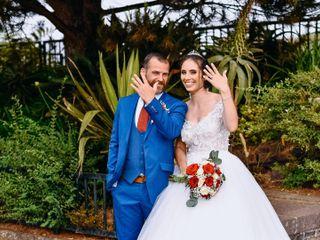 O casamento de Cátia  e Christian