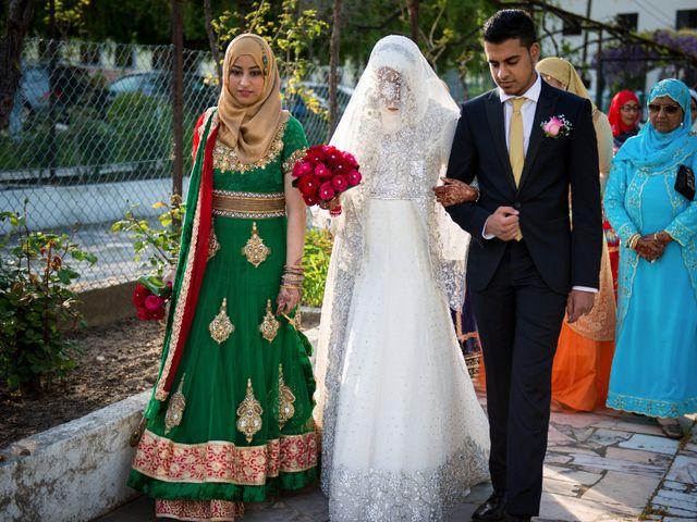 O casamento de Shanawaz e Naila em Fernão Ferro, Seixal 5