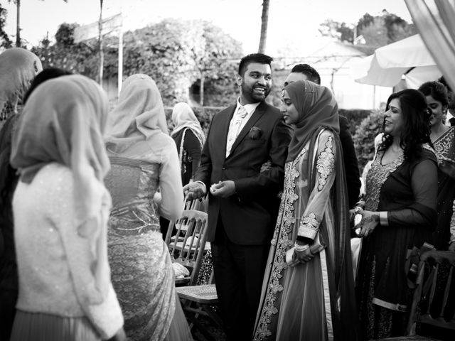 O casamento de Shanawaz e Naila em Fernão Ferro, Seixal 6