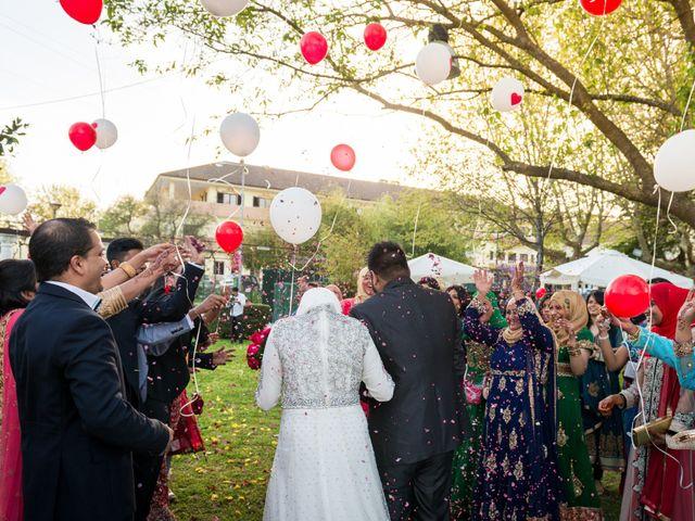 O casamento de Shanawaz e Naila em Fernão Ferro, Seixal 8