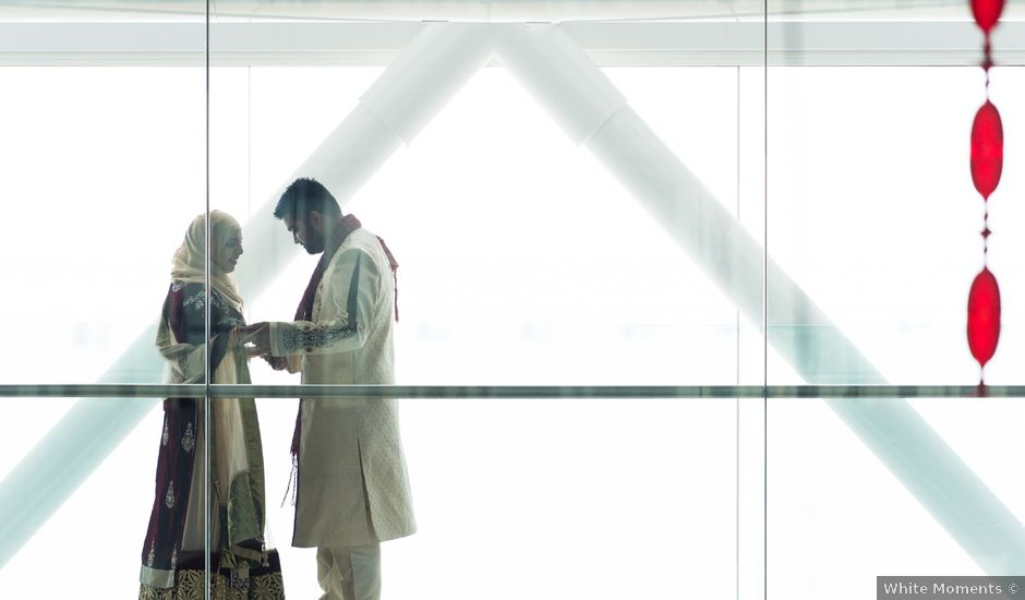 O casamento de Shanawaz e Naila em Fernão Ferro, Seixal