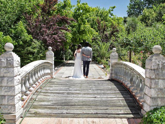 O casamento de Bruno e Simaura em Palhais, Barreiro 12