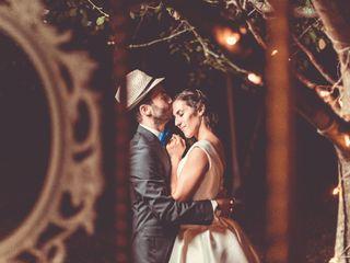 O casamento de Cândida e Julien