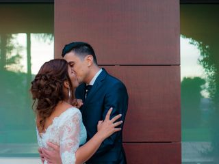 O casamento de Vania e Leandro