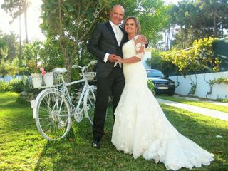 O casamento de Antónia e César