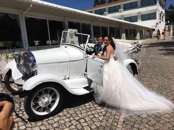 O casamento de Dina e António