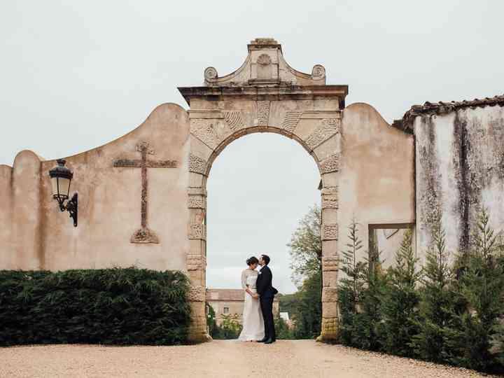 O casamento de Chloé e Edouard
