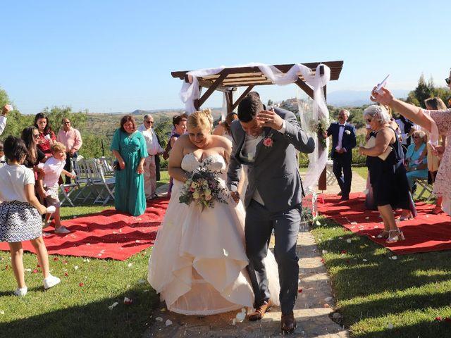 O casamento de Romeu e Angela em Igreja Nova, Mafra 1