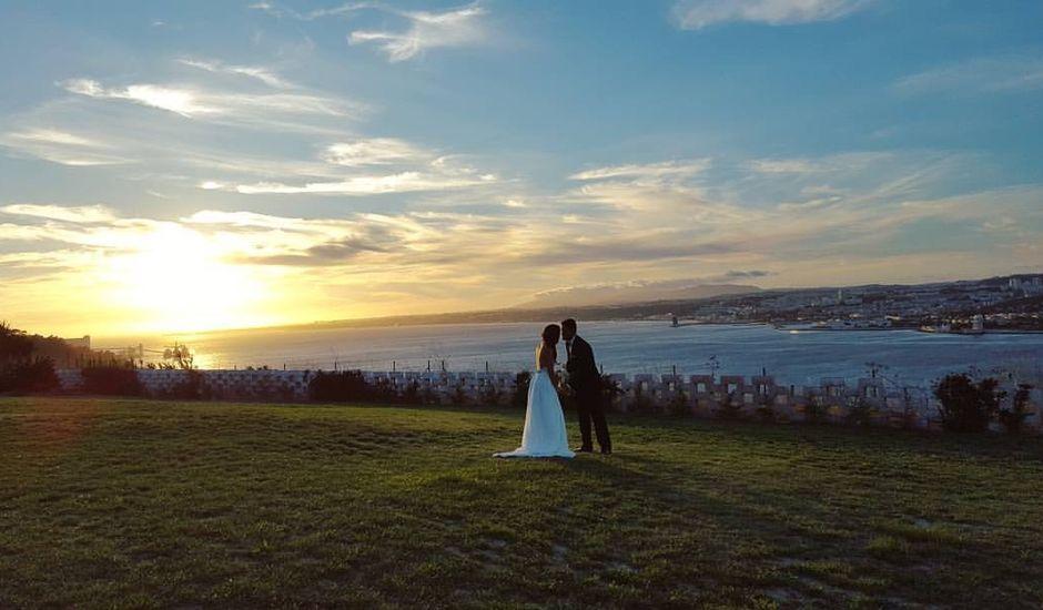 O casamento de Alexandre e Frederica em Almada, Almada