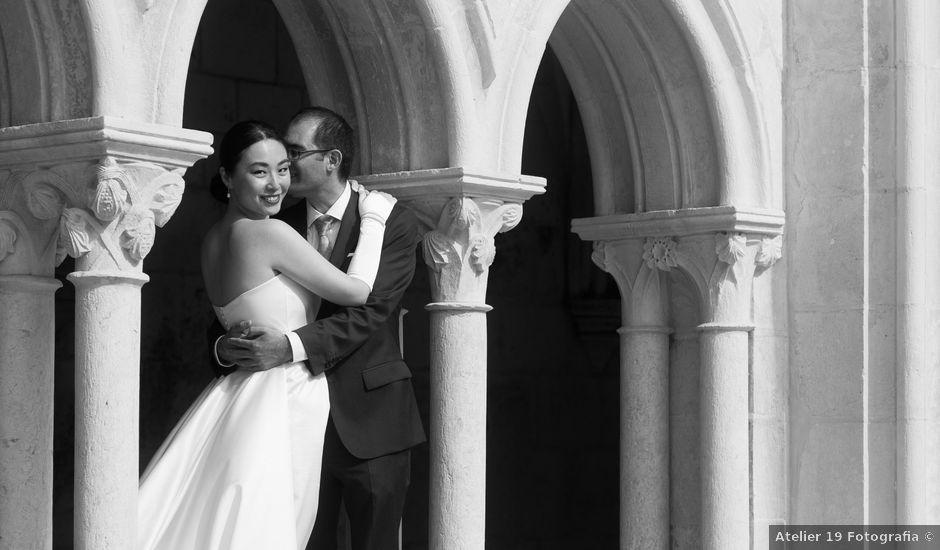 O casamento de Miguel e Mendgi em Alcobaça, Alcobaça