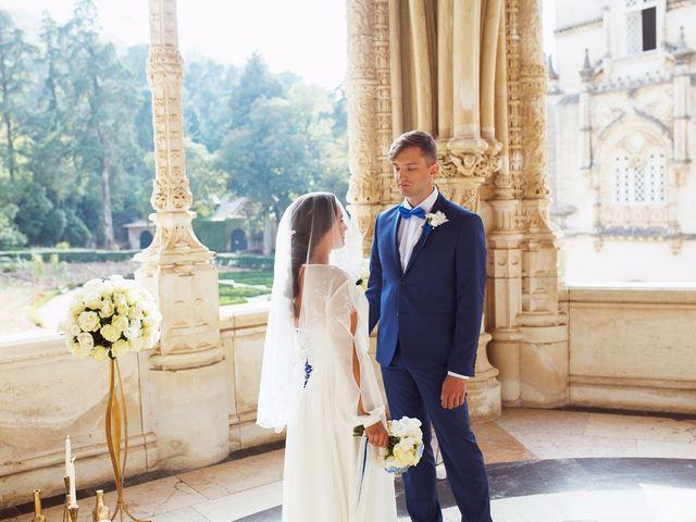 O casamento de Daniil e Victoria em Luso, Mealhada 20