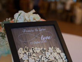O casamento de Larisa e Francisco 1