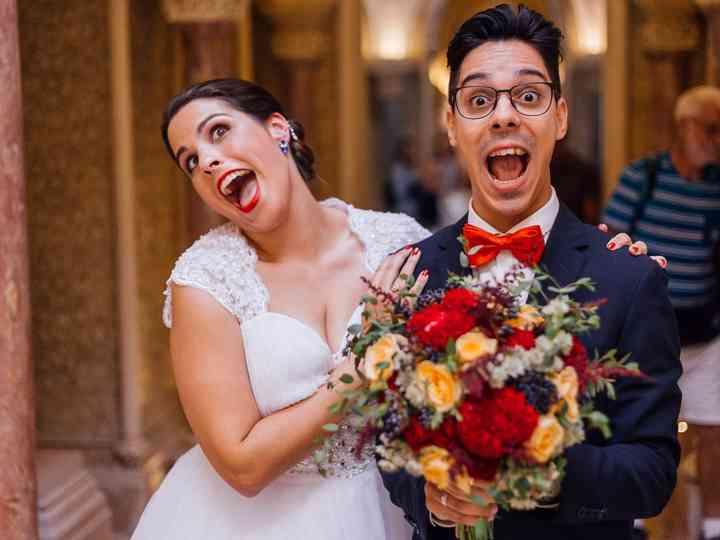O casamento de Anna e Nelson