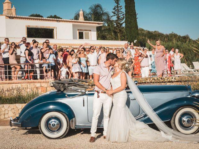 O casamento de Nathen e Shannon em Estombar, Lagoa 34