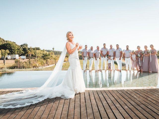 O casamento de Nathen e Shannon em Estombar, Lagoa 35