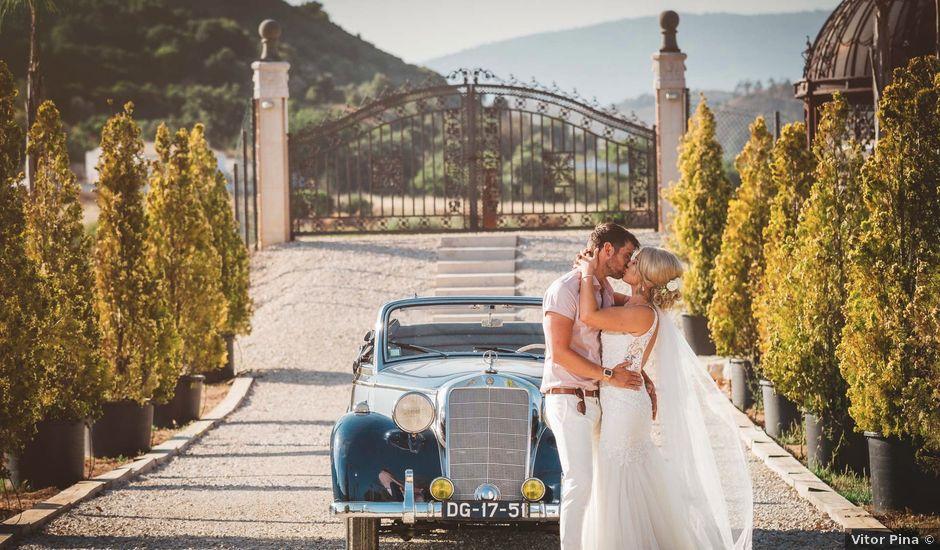 O casamento de Nathen e Shannon em Estombar, Lagoa