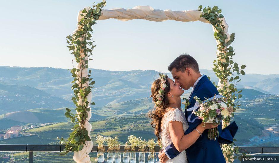O casamento de Ivo e Sara em Lamego, Lamego