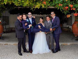 O casamento de Alexandra e Luís
