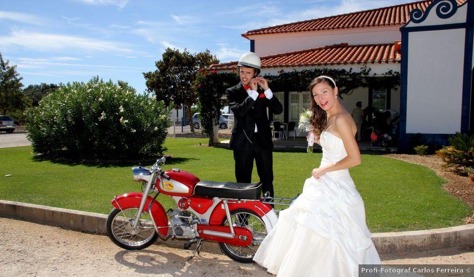 O casamento de Paulo e Margarida em Liteiros, Torres Novas