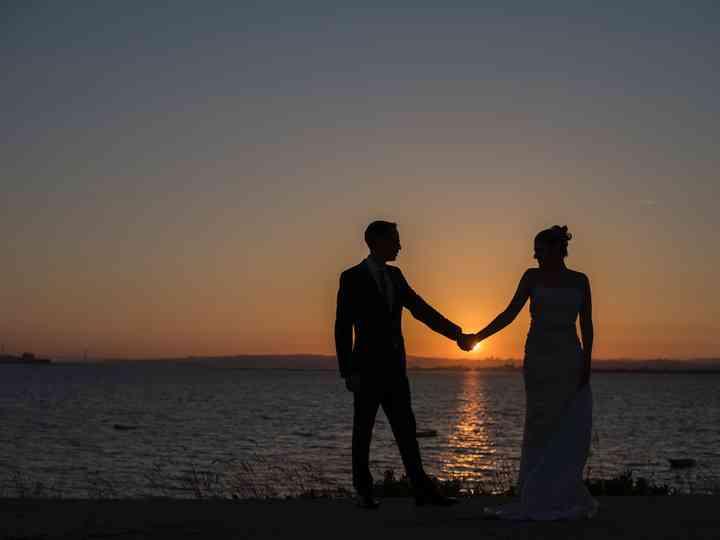 O casamento de Magda e Sérgio